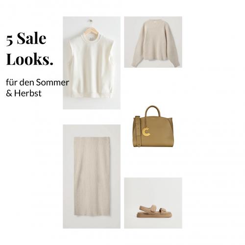 Sale –  5 komplette Looks mit den schönsten Sale Artikeln